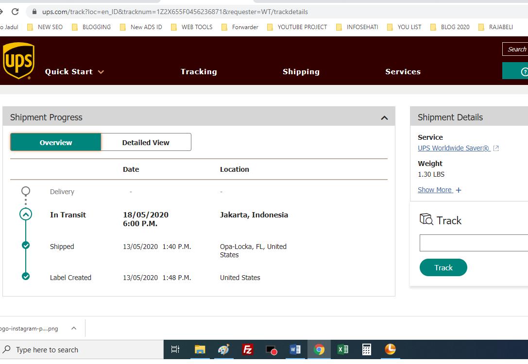cara-tracking-paket-UPS-2