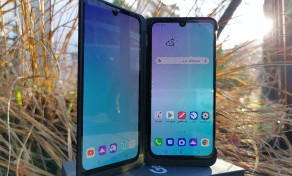 LG G8X ThinQ Ponsel Unik Layar Ganda