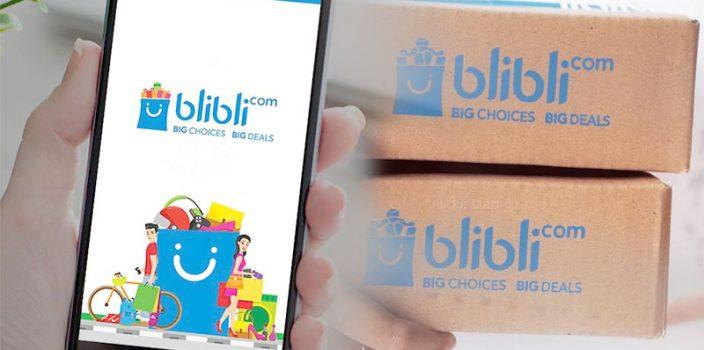 Cara belanja di blibli.com via applikasi HP 1