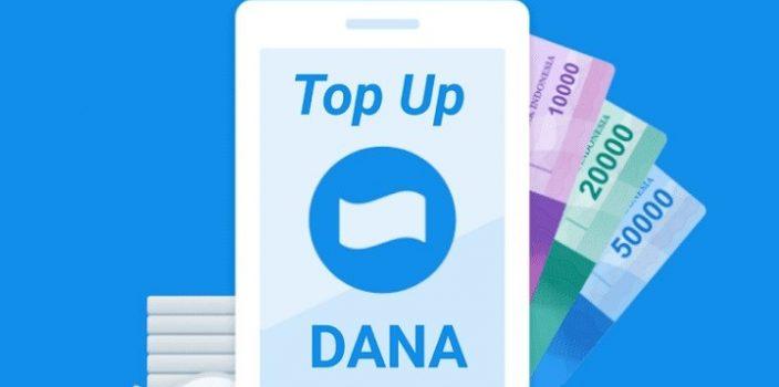 Beberapa cara top up Dana